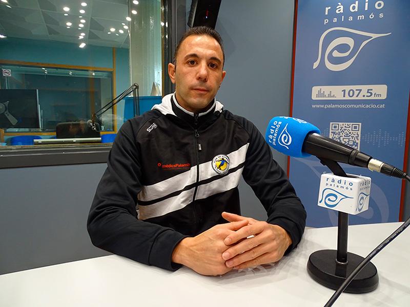 David Cruz, coordinador del Global Palamós.