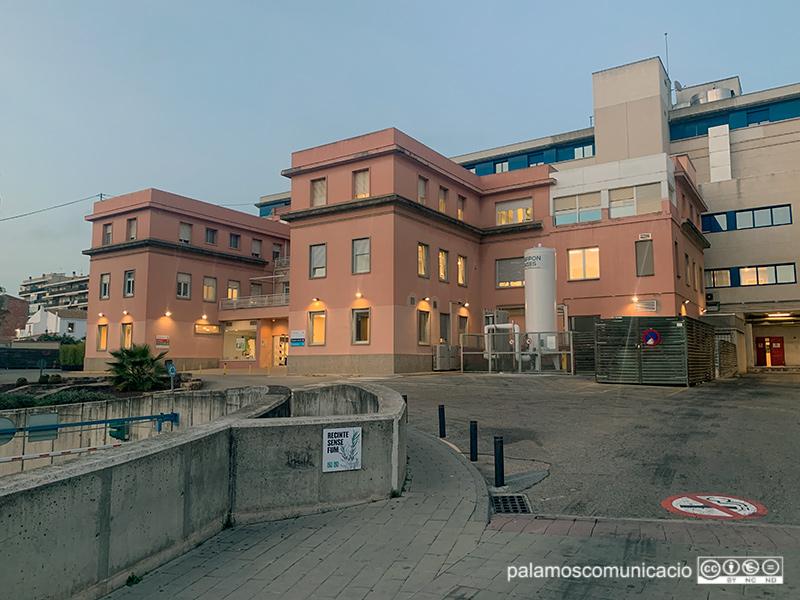 L'hospital de Palamós té ara mateix 28 persones ingressades per COVID-19.