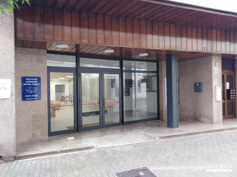 El local de la Germandat Artur Mundet, al carrer de Sant Antoni. (Foto: Ajuntament de Calonge i Sant Antoni).