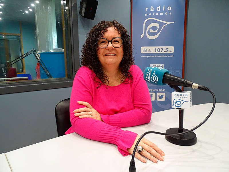 Raquel Gallego, regidora del PSC a l'Ajuntament de Palamós.