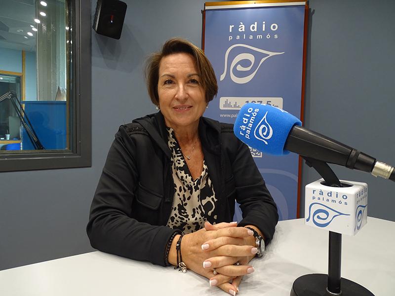 Susanna Cané, economista i consultora empresarial, ahir al programa 'Tal com som'.