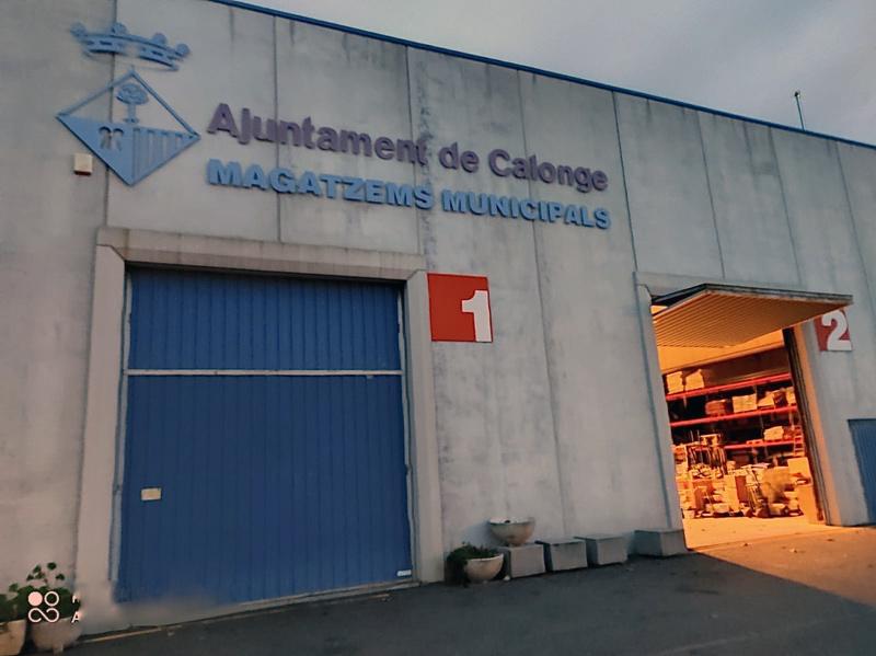 Magatzems de la brigada municipal de Calonge i Sant Antoni. (Foto: Ajuntament de Calonge i Sant Antoni).
