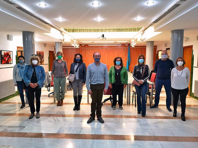 El govern municipal va rebre dilluns a representants d'agències de viatges del municipi. (Foto: Ajuntament de Palamós).