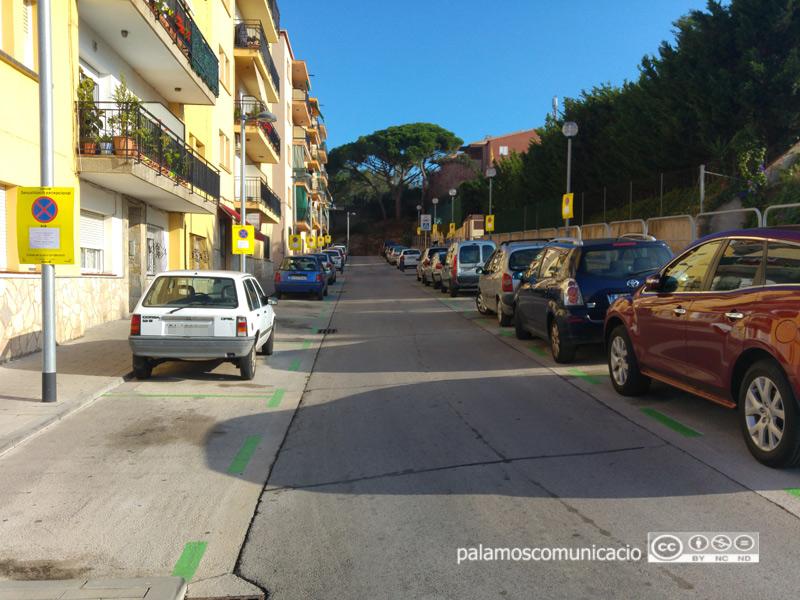 Les brigades de l'empresa Urbaser treballaran en la neteja intensiva del carrer de Vicenç Bou.