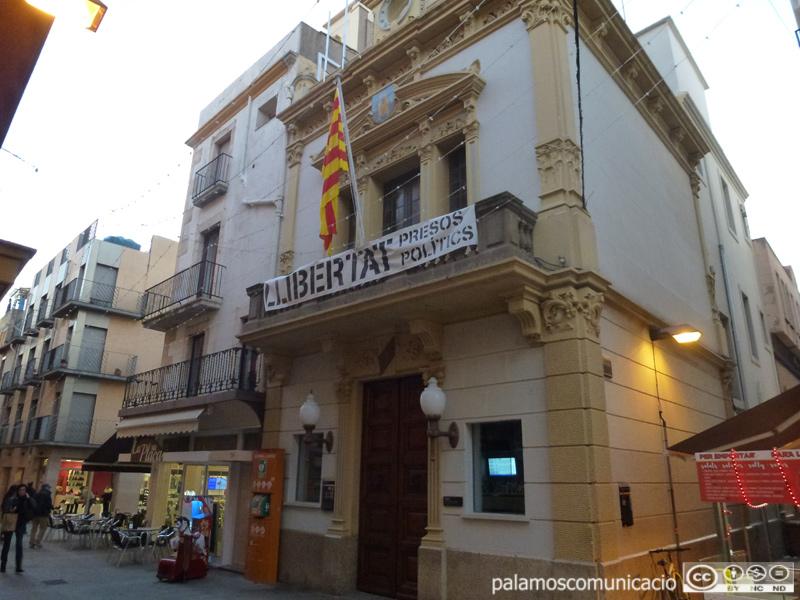 L'Ajuntament de Palamós.