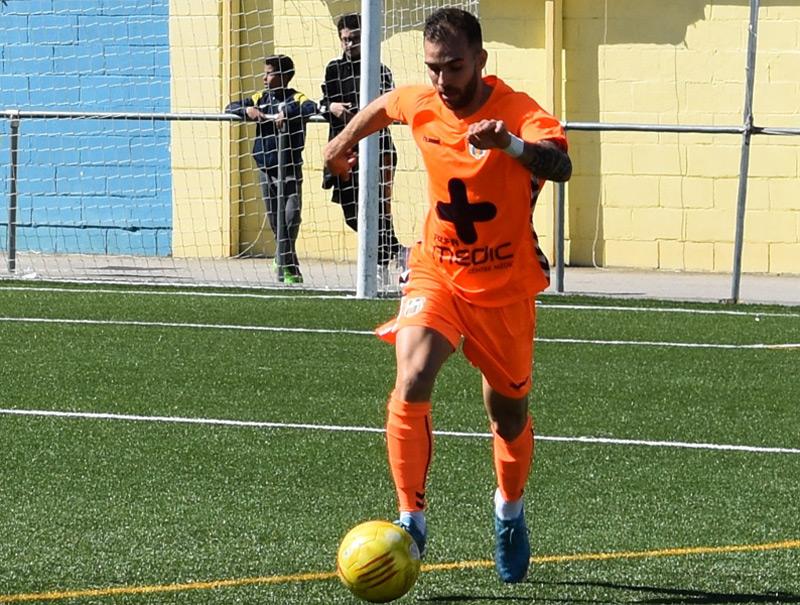 Joel Salas deixa el Palamós després de tres temporades. (Foto: Sergi Cortés).
