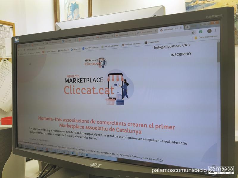 Cliccat.cat és el primer marketplace que té com a referència el comerç de proximitat de Catalunya.
