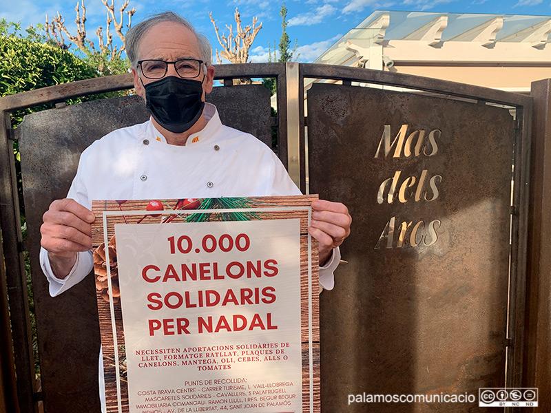 Toni Izquierdo, xef i propietari del Restaurant Mas dels Arcs de Palamós.