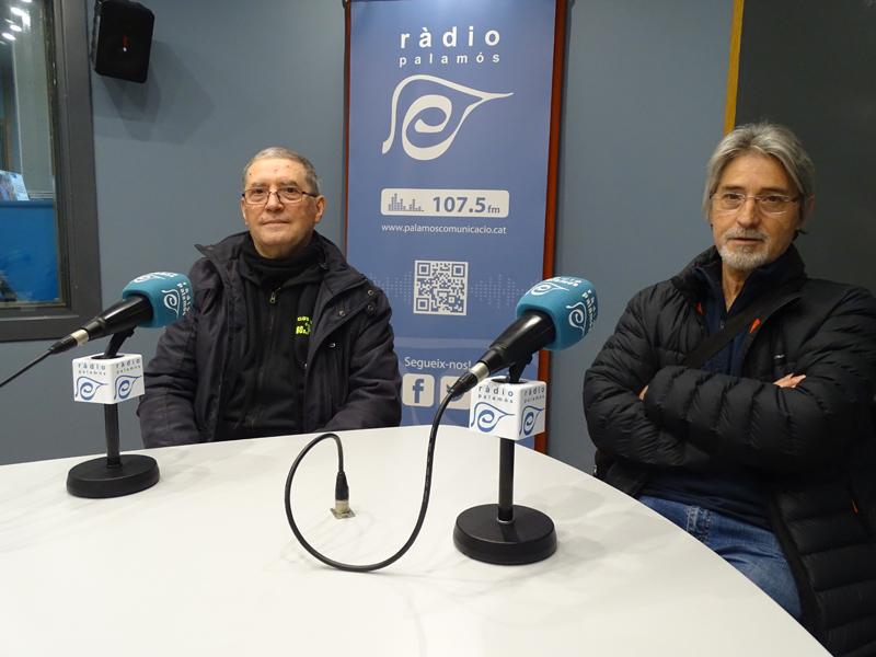 Jaume Datsira i Josep Maria Garcia, membres de la junta del Club de Fans dels 60s, 70s i 80s.