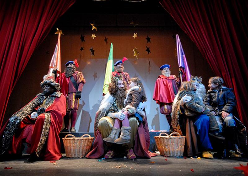 Imatge d'arxiu dels Reis d'Orient a Palamós. (Foto. SAMP - Josep Lois).