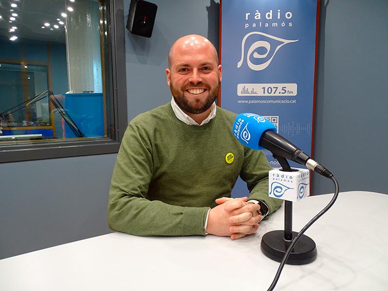 Raimon Trujillo, regidor de Junts per Catalunya Palamós i Sant Joan.
