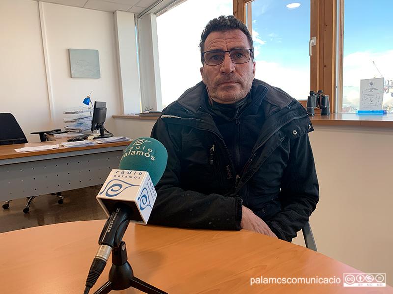 Toni Albalat, Patró Major de la Confraria de Pescadors de Palamós.
