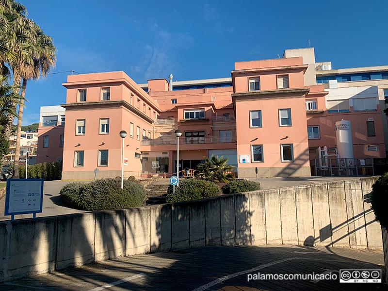 L'hospital de Palamós té a dia d'avui 32 persones ingressades per COVID-19.