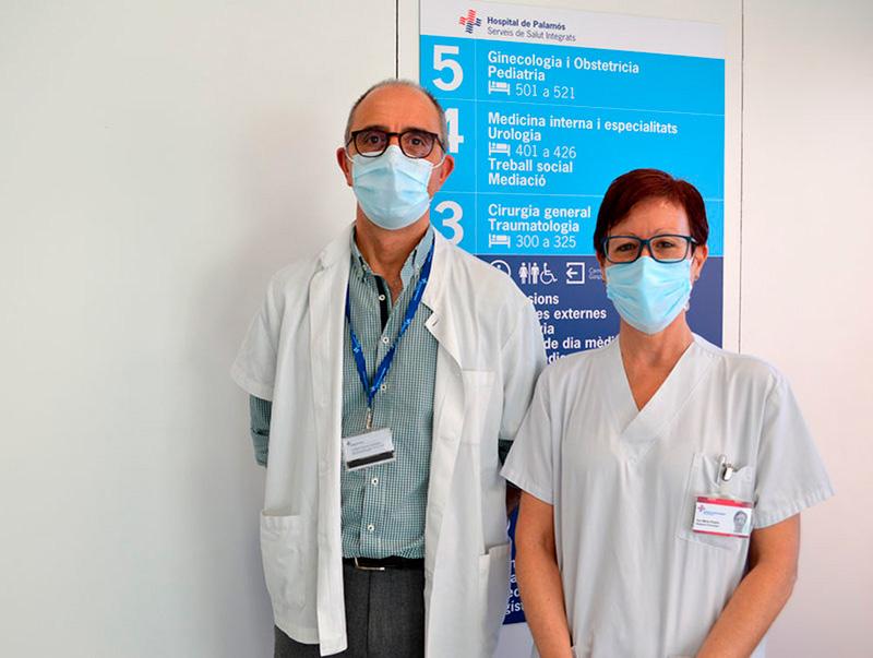 La Dra. Vicedo pren el relleu del Dr. Marqueta al capdavant del servei de Ginecologia i Obstetrícia de SSIBE. (Foto: SSIBE).