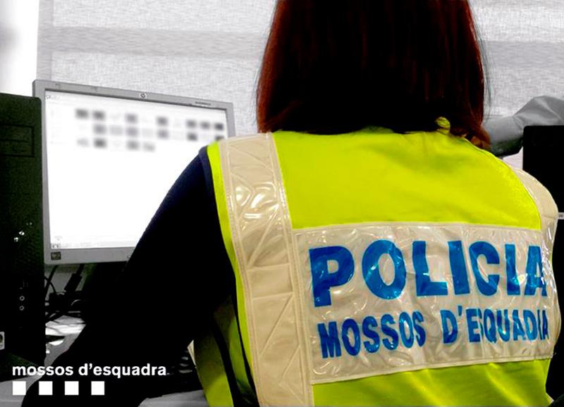Es pot demanar cita prèvia des del web www.mossos.gencat.cat/citaprevia . (Foto: Mossos d'Esquadra).