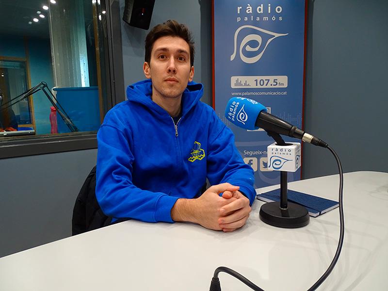 Andreu Iruela és el coordinador del Club Esportiu Palamós.