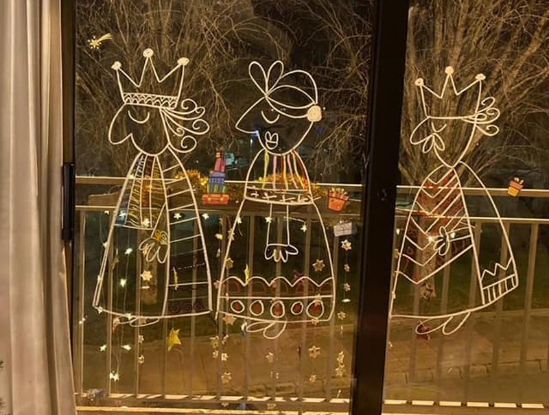 Decoració nadalenca artesana guanyadora d'un dels premis del concurs.