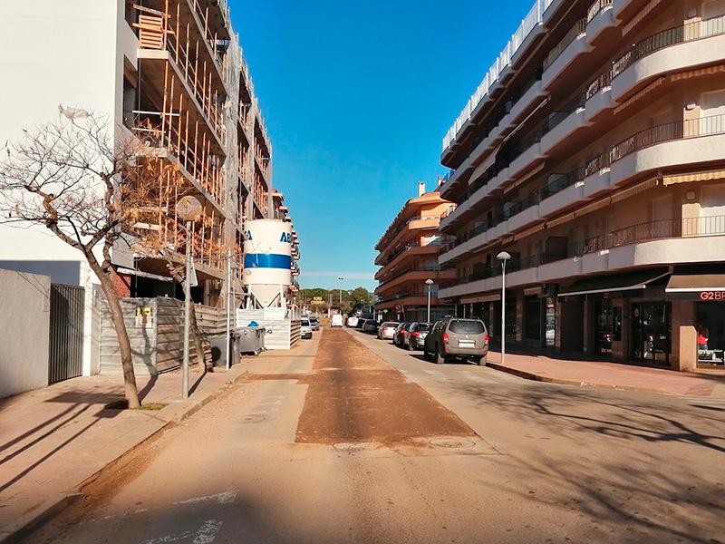 L'Avinguda Costa Brava de Sant Antoni. (Foto. Ajuntament de Calonge i Sant Antoni).