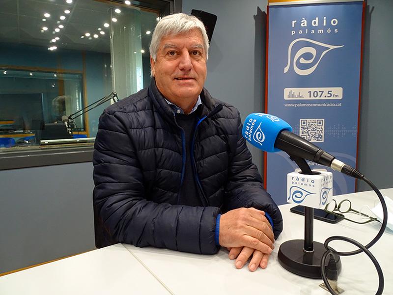 Martí Sabrià, exgerent del Grup Costa Brava Centre, ahir als nostres estudis.