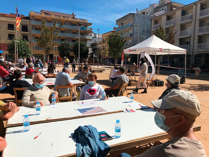 Imatge d'arxiu d'una reunió de participació ciutadana a Sant Antoni de Calonge. (Foto: Ajuntament de Calonge i Sant Antoni).