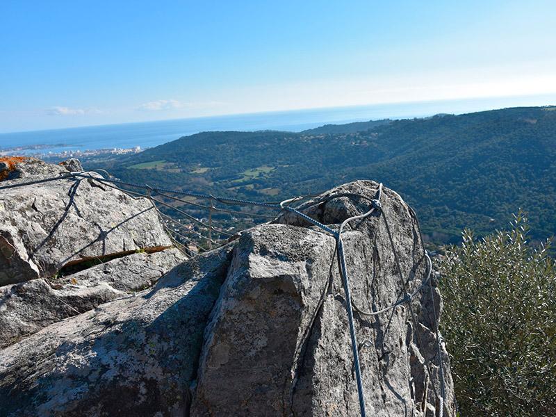 Castellbarri, a tocar a la urbanització Vescomtat de Cabanyes. (Foto: Ajuntament de Calonge i Sant Antoni).
