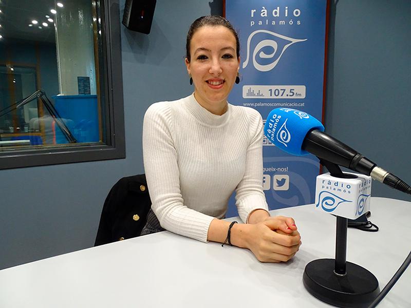 Chaymae Mechaal, regidora d'Acció Social i Ciutadania de l'Ajuntament de Palamós.