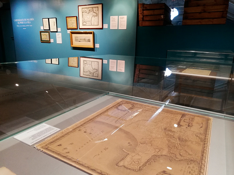 Imatge d'una de les seccions de l'exposició