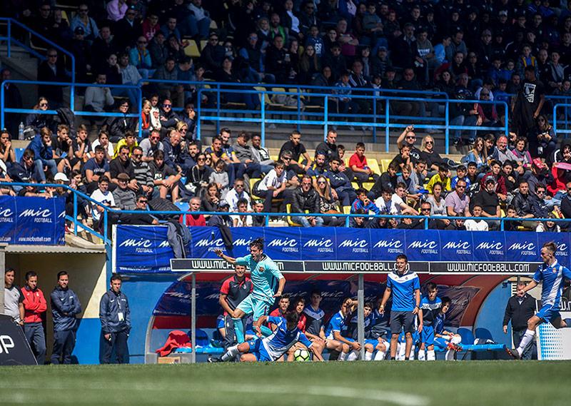 Imatge d'una de les finals del MIC del 2018 a Palamós (Foto: Ruben Garcia/MIC).