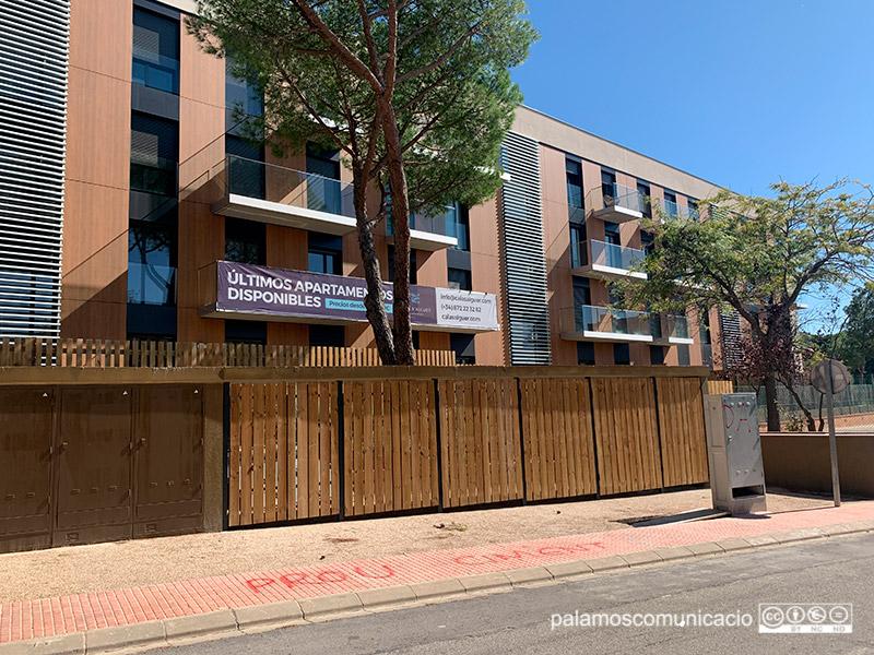 Fins al moment s'han construït dos edificis amb 48 apartaments en total.