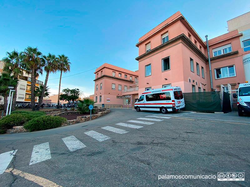Ara mateix hi ha 25 persones ingresades per COVID-19 a l'hospital de Palamós.