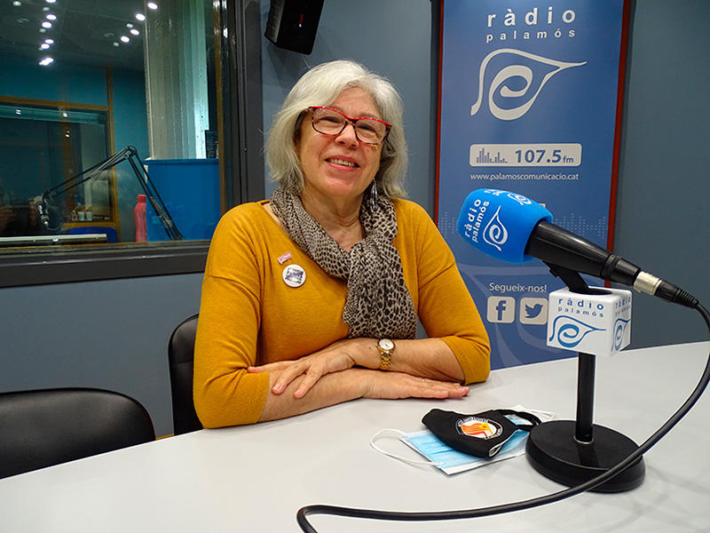 Roser Huete, regidora de la CUP Palamós - Vila-romà a l'Ajuntament de Palamós.