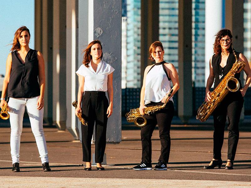 Limnos Quartet, actua aquest diumenge al Teatre La Gorga de Palamós.