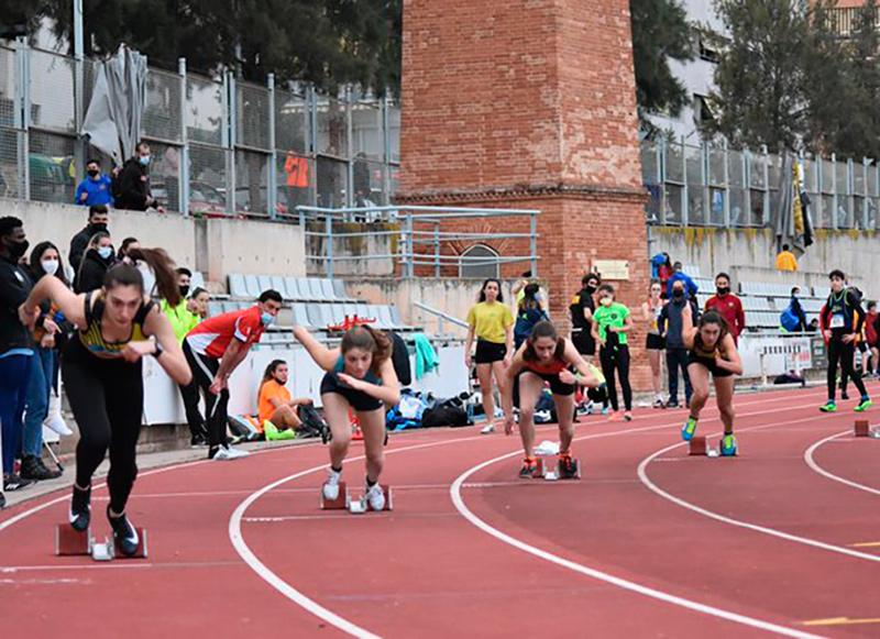 Bons resultats dels atletes de l'AA Palamós en les diferents proves d'aquest cap de setmana. (Foto: @atletismegava).