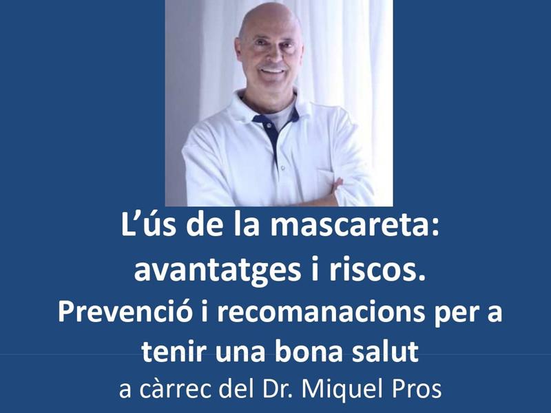 El doctor Miquel Pros va fer una xerrada el passat 1 de desembre a La Gorga.