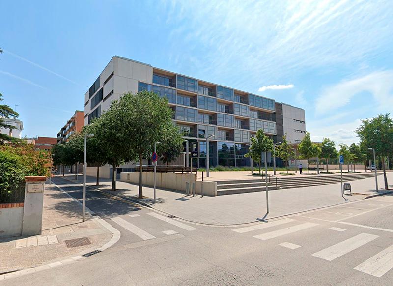 L'edifici de l'Audiència de Girona. (Foto: Google Maps).
