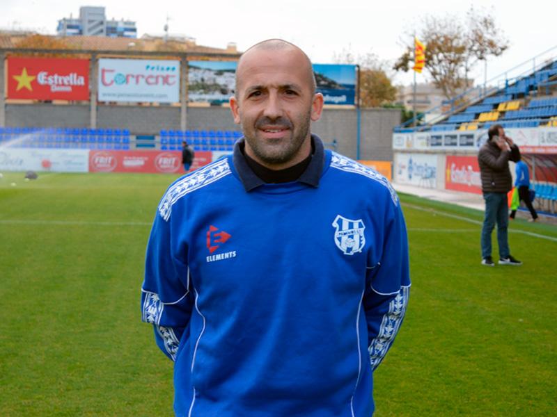 Joan Bayona tornarà aquest diumenge a Palamós, però com a porter de L'Escala. (Foto: Sergi Cortés).