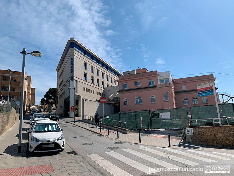 L'hospital de Palamós torna a restringir a partir d'avui les visites als pacients ingressats.