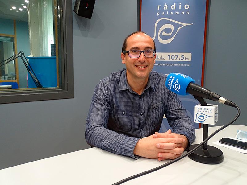 L'alcalde de Palamós, Lluís Puig, avui a l'espai 'Preguntes'.