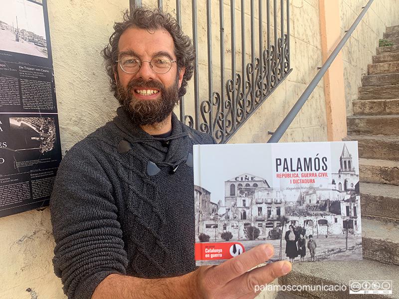 Alexan Weltz ha publicat el seu tercer llibre sobre la història de Palamós.
