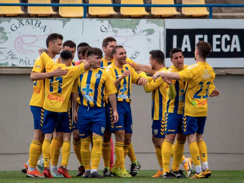 El Palamós buscarà diumenge la tercera victòria consecutiva de la temporada. (Foto: Palamós CF).