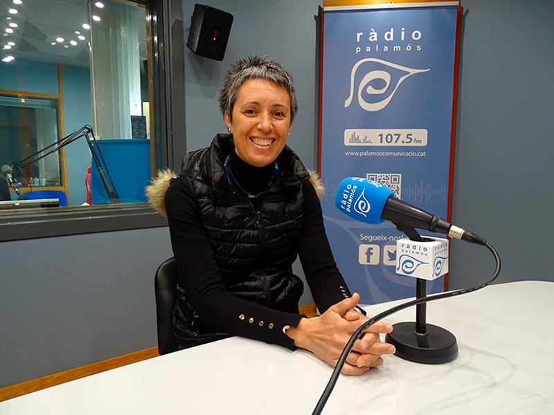 Mercè Agustí, infermera de l'ABS de La Bisbal i coordinadora del projecte