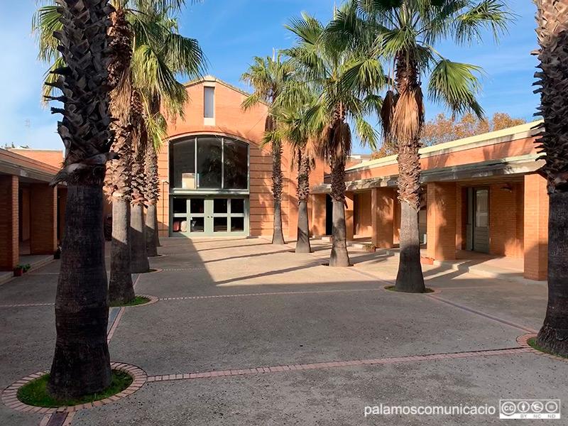 L'Institut d'Educació Secundària de Palamós.