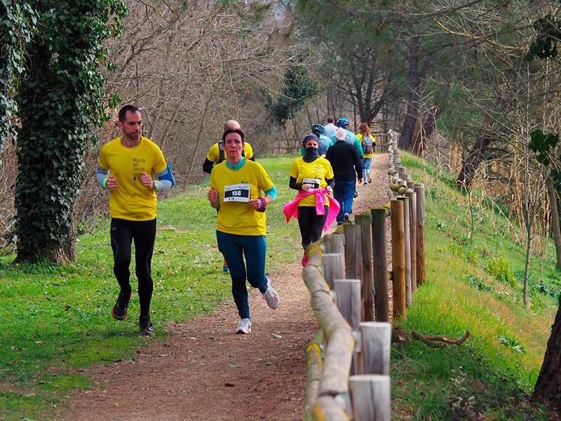 Imatge d'arxiu de l'edició del 2019 de Run4Cancer. (Foto: Fundació Oncolliga Girona).