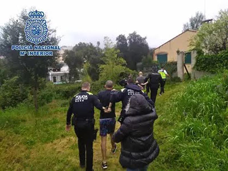 L'operatiu ha permès comissar 600 plantes i detenir dos homes. (Foto: Policia Nacional).