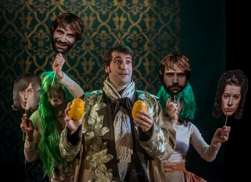 """L'obra és una adaptació de """"El burgès gentilhome"""" de Molière. (Foto: Els Pirates Teatre)."""