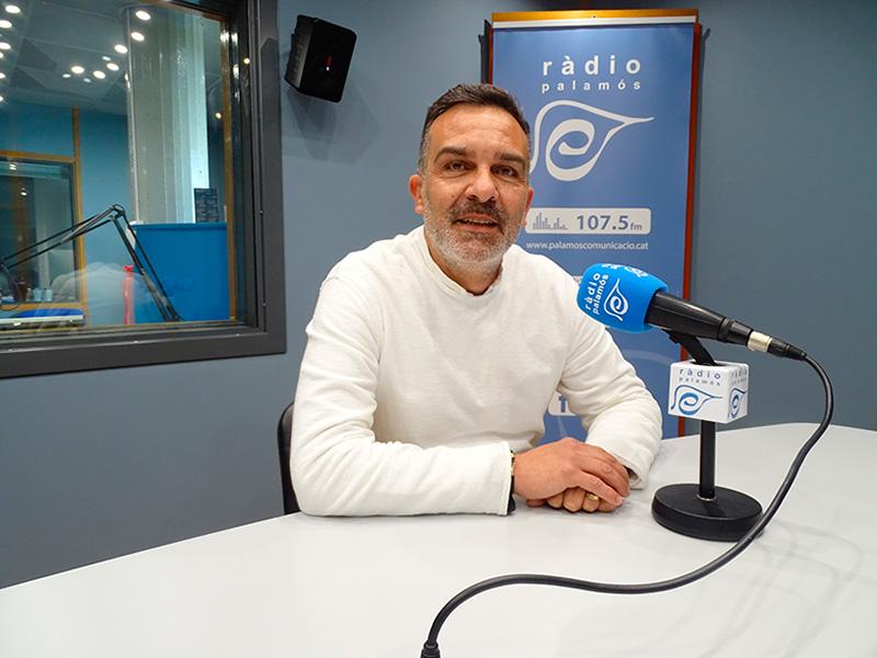 El regidor de C's a l'Ajuntament de Palamós, Cristóbal Posadas.
