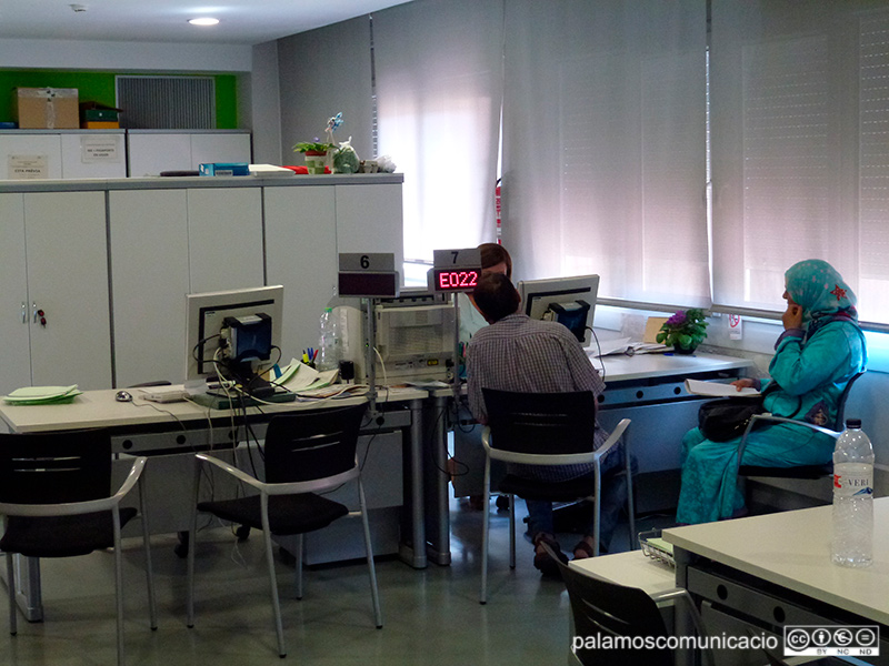 L'atur a Palamós ha disminutït de 43 persones en el darrer mes.