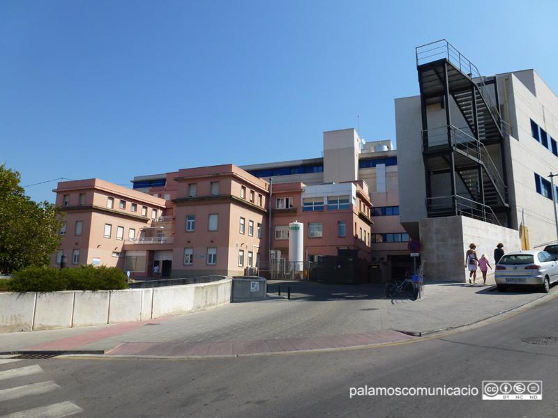 Amb dades d'ahir, hi ha 24 pacients ingressats per COVID a l'hospital de Palamós.