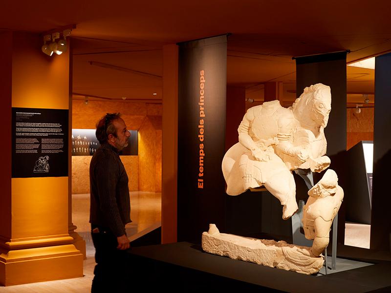 L'exposició romandrà oberta fins al 16 de gener de 2022. (Foto: Pepo Segura - Museu d'Arqueologia de Catalunya).