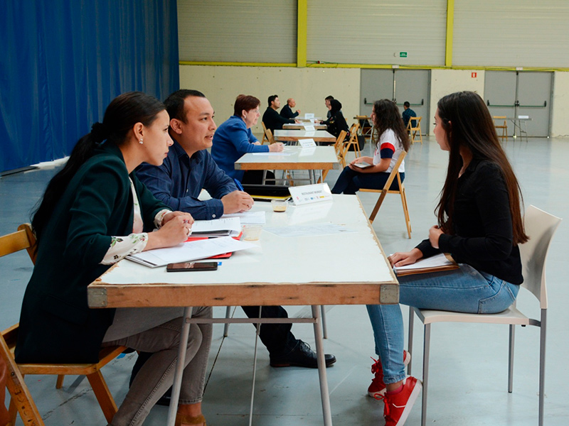Més de 100 ofertes de feina a l'edició d'aquest any d'Speed Dating, al Palau Firal de Sant Antoni.